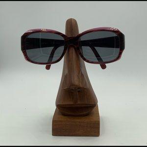 DKNY 4048 Brown / Purple Oval Sunglasses